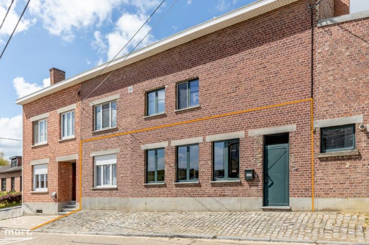 Te koop Te renoveren gelijkvloers appartement met 2 slaapkamers en zonneterras in prachtig Haspengouw